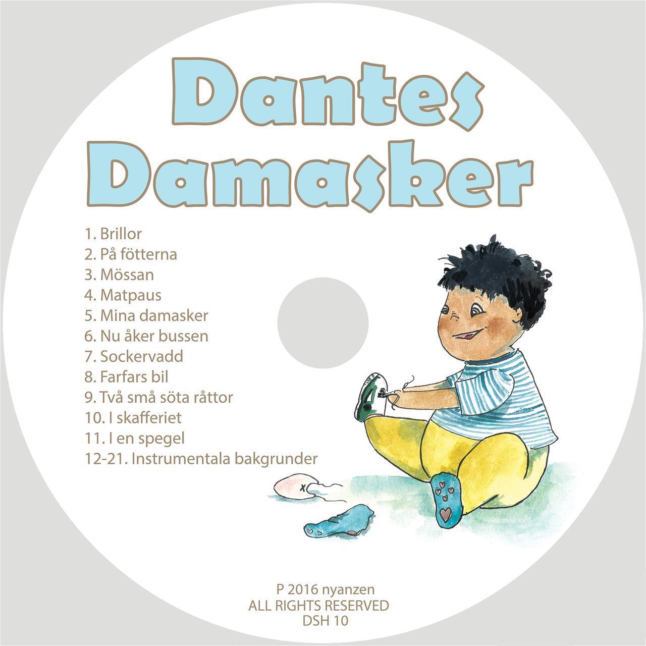 Dantes Damasker - Cd/Digital musik
