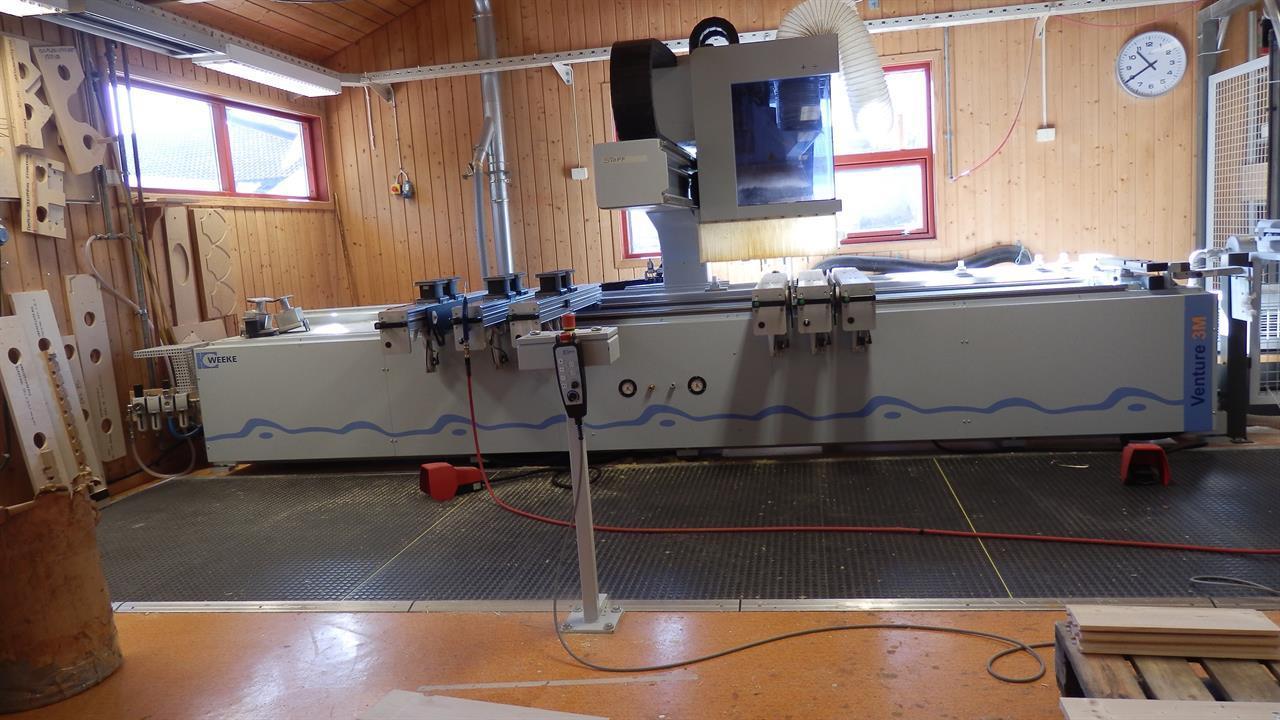 CNC maskin
