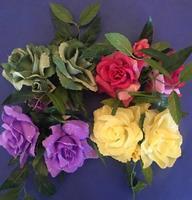 Lysmansjett rose - Rosa