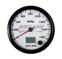 4-1/2 HOLLEY 160 GPS SPEEDO-WHT