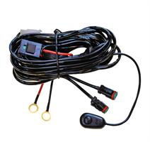 Strands kabelsats 2st DT-kontakter 12-24V DC