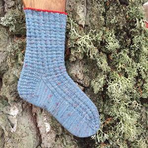 Himmelsblå Trekking tweed