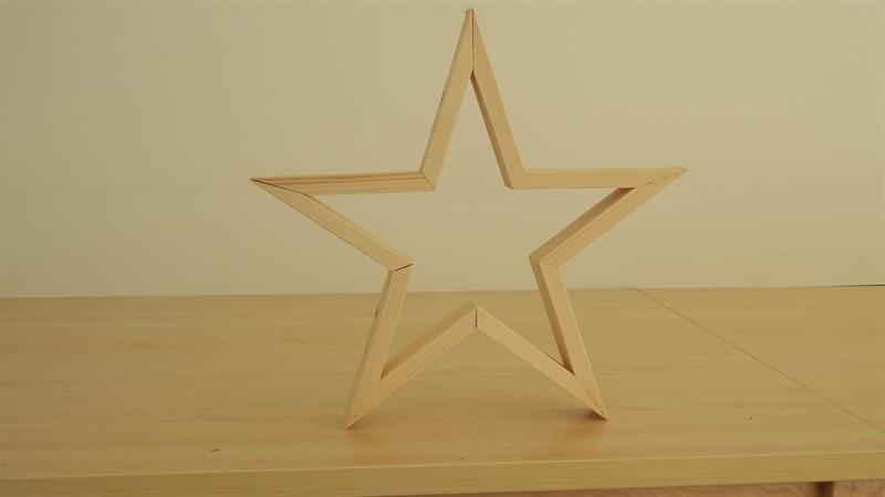 5 armet stjerne mellomstor