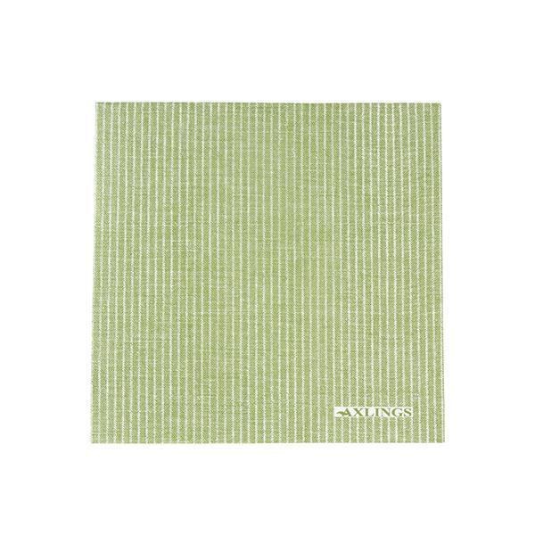 Pappservett Kritstreck bladgrön