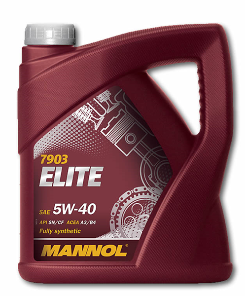 Mannol helsyntetisk motorolje MB 229.5 5W-40