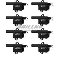 Coils,BLACK,GM LS,Truck Style Coil, 8-Pk