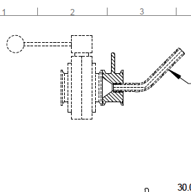 Tri-clamp racking arm adapter