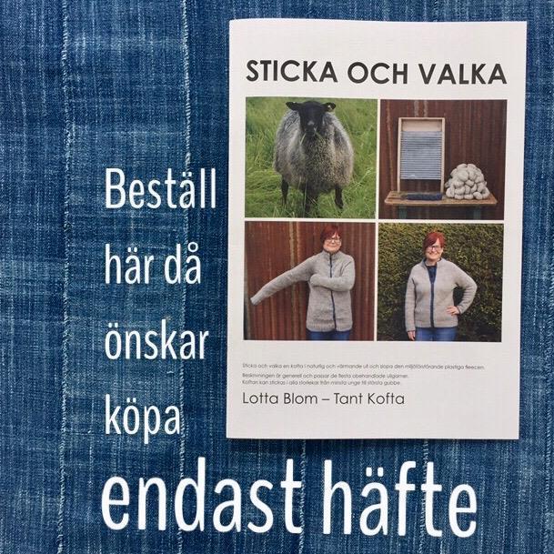 """""""Sticka och Valka"""" stickhäfte med porto"""