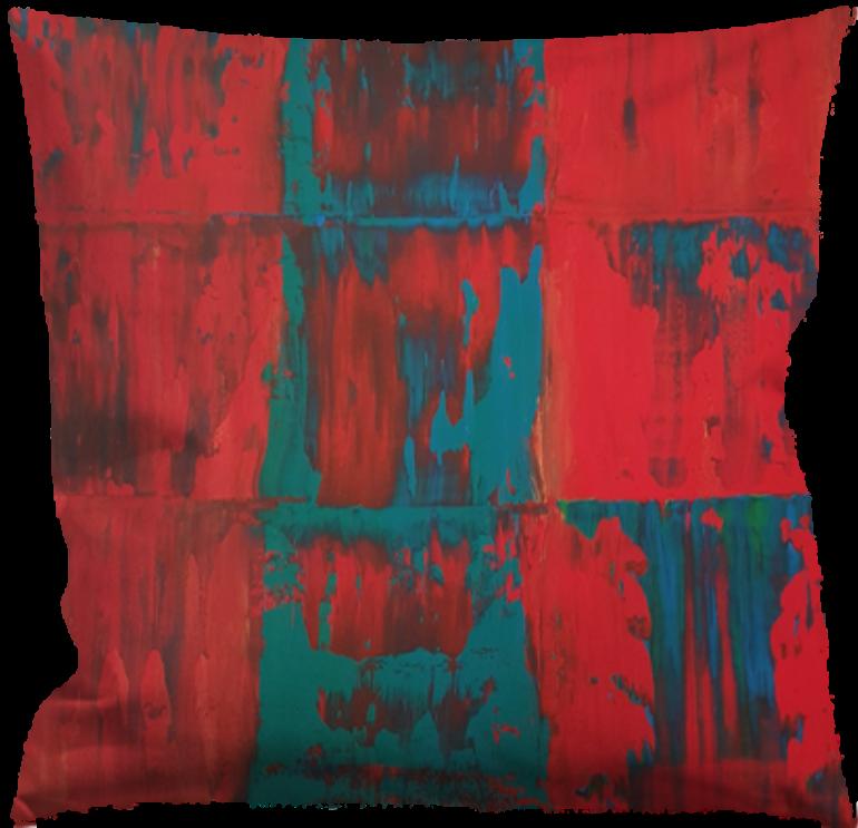 Kuddfodral abstrakt
