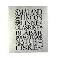 Disktrasa, Småland, grå/svart text
