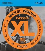 D'Adario EXL 110 el.gitar strenger