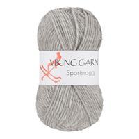 Viking Sportsragg Ljus grå