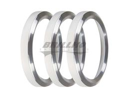 2-1/16 BEZELS, SILVER, PACK OF 3