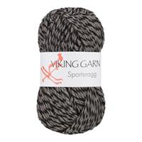 Viking Sportsragg grå svart