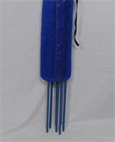 TEX-FENCE SNABBNÄT 0,6 x 5 m 3 käppar blå