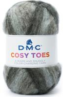 DMC Cosy Toes Svart print