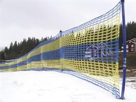 AVSPÄRRNINGSNÄT WIND 50 m Blå/Gul