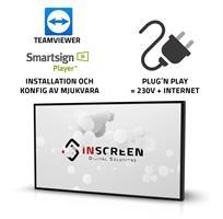 Installation Smartsign + TeamViewer på skärm 10-55