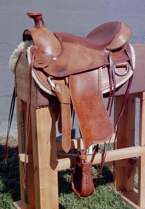 En Westernsadel till en handikappad ryttare