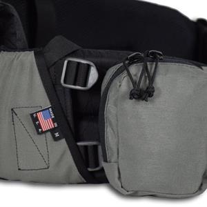 Utstyrspakke med stor lomme