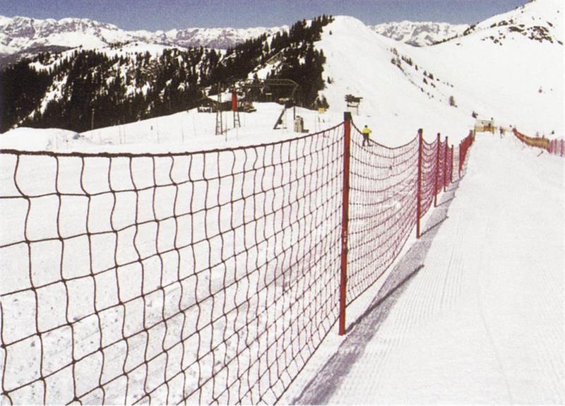 AVSPÄRRNINGSNÄT Röd 25 x 1,2 m