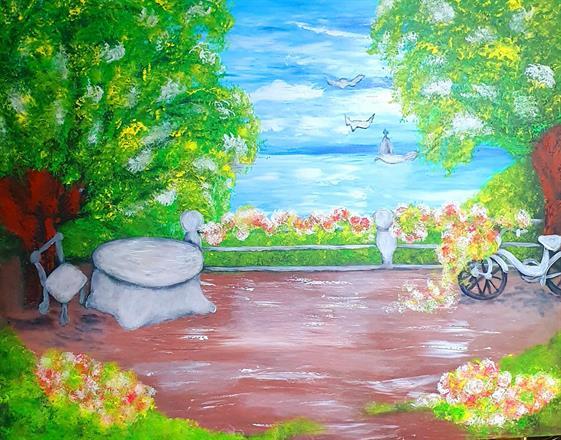 Canvastavla-By Valentina Achim