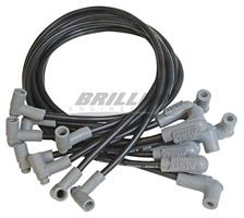 WireSet Blk SB Chevy w/HEI Cap blw mnfld