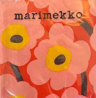 Marimekko unikko lunsj 20stk, rose orange