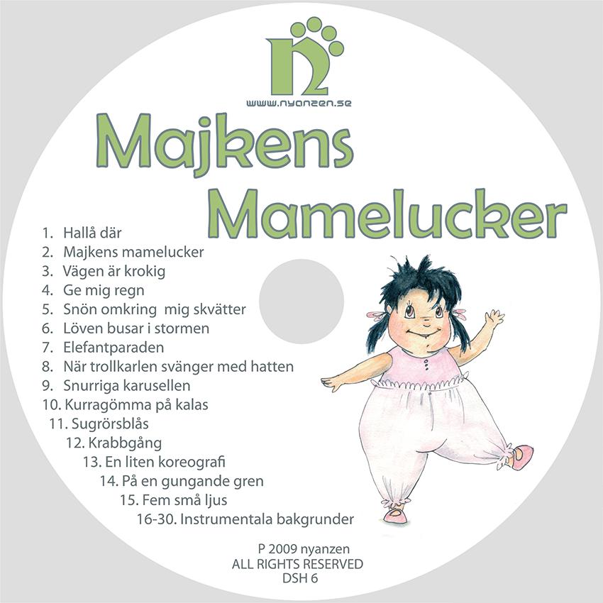 Majkens Mamelucker CD/Digital musik