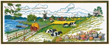 Landskap jordbruk