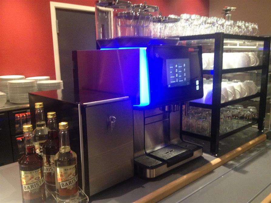 Kaffemaskinen prøves:)