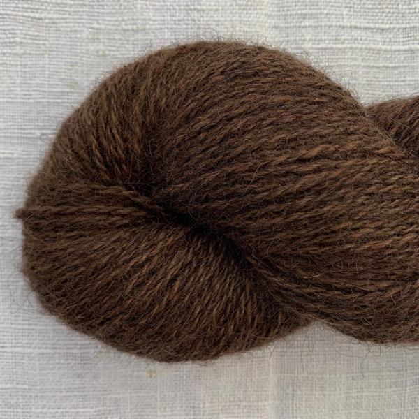 HASSELNÖT strikkegarn 2tr - 50 gram