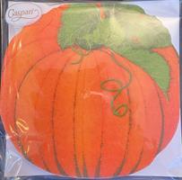Lunsjservietter Pumpkin, paper linen 15 stk
