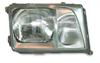 Frontlykt komplett W124 alle modeller venstre side