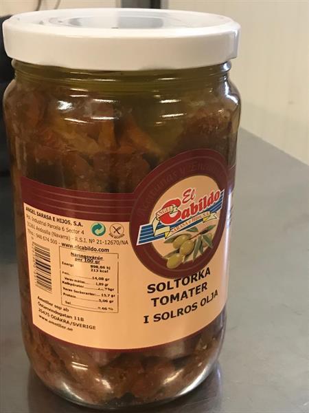 Tomater Torkade i Olja 345 gr