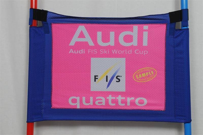 Storslalomflagga Super Training Blå