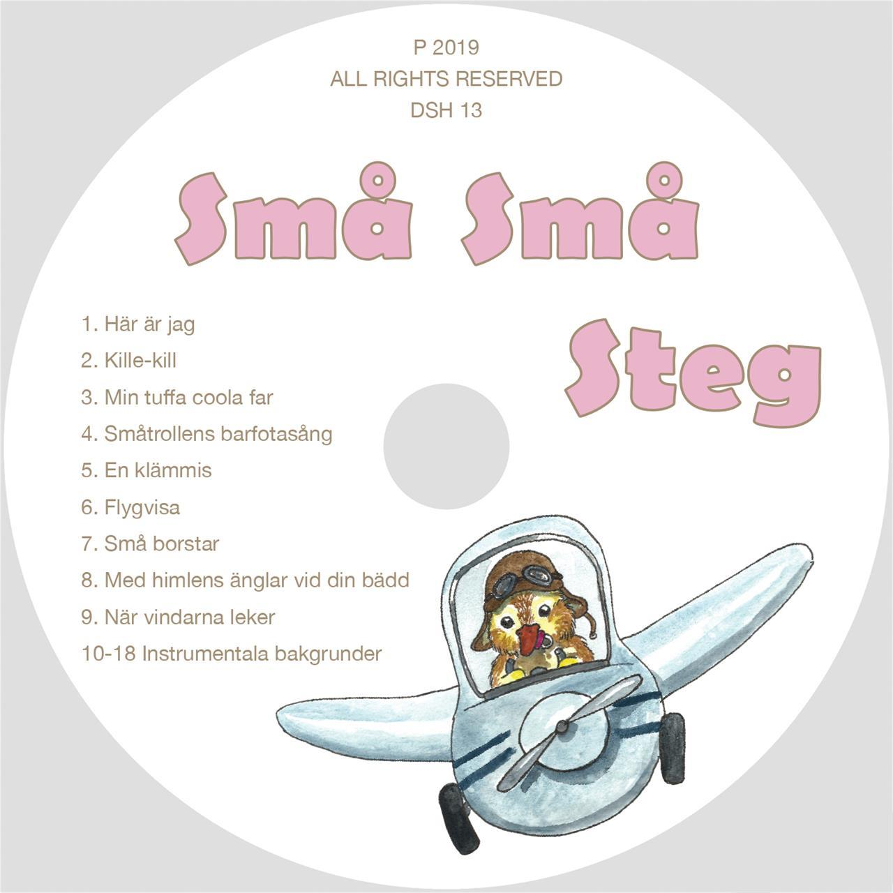 Små små steg CD/Digital musik