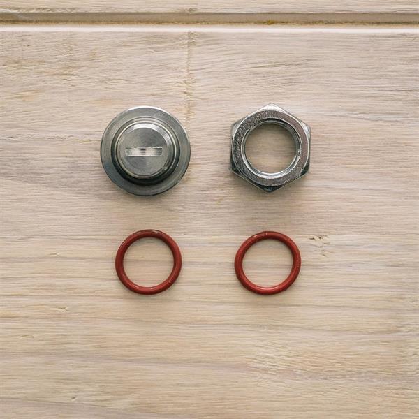 Plug 17 mm Compression Fitting