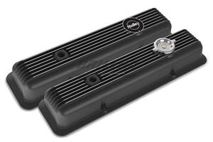 SBC MUSCLE SERIES VALVE COVERS,FINNED,GL