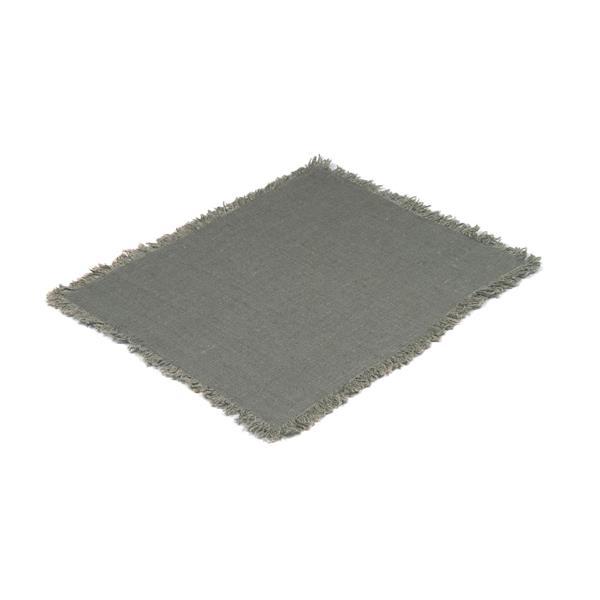 Tablett Rustik betong, med frans