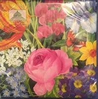 Middag serviett Redoute floral 3 lag 20stk