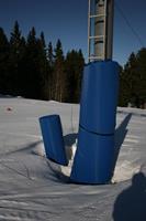 SKYDDSMADRASS MED HALKSKYDDSVÄG 2 x 1 m
