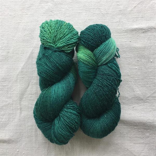 Smaragdmelerad Filisilk