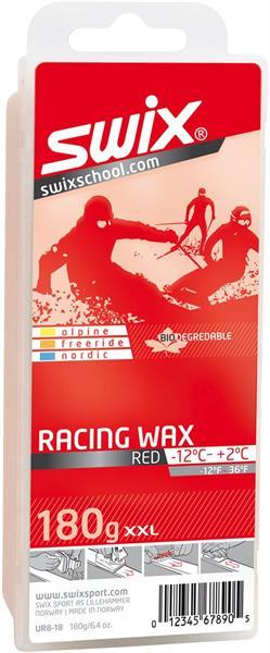 SWIX UR8 Red Bio Racing Wax, 180g