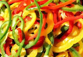 Paprika mix skiver 0,5 kg