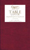 Caspari papirduk Moire burgunder, 140 cm * 220 cm