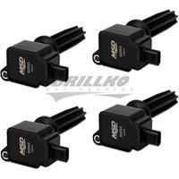 Coil,BLACK,Ford Eco-Boost2.0L/2.3L,4-Pk