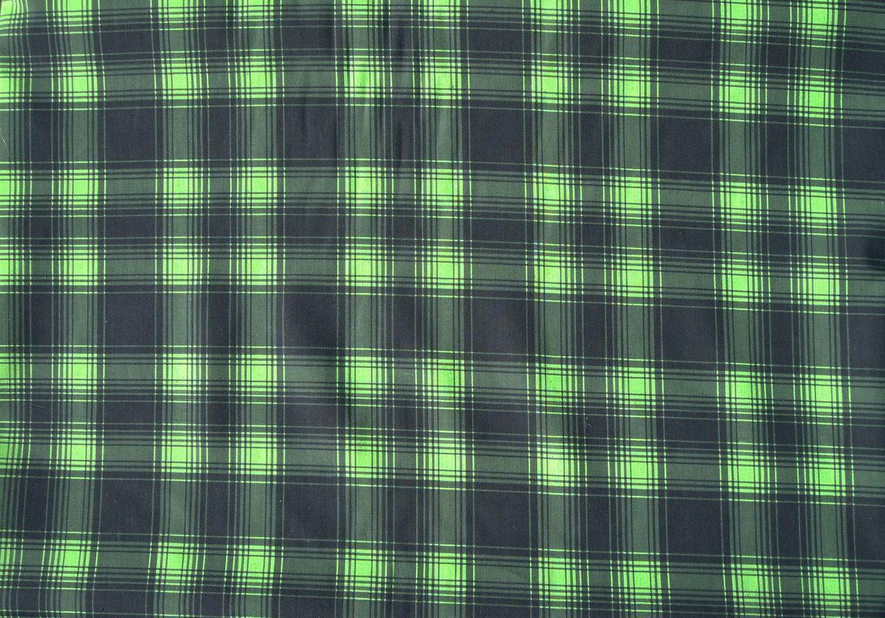 Grön tartan
