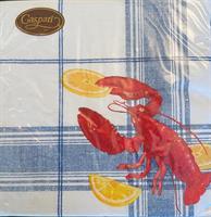 Middag serviett Lobster bake 3 lag 20stk