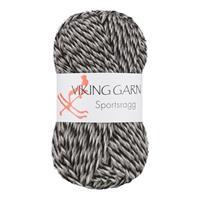 Viking Sportsragg grå vit svart